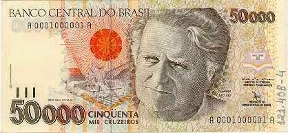 50.000 Cruzeiros