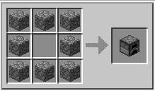 Minecraft Furnace recipe