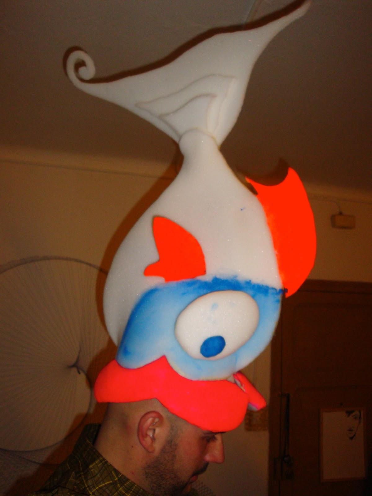 oly ria disfraz pez de goma espuma