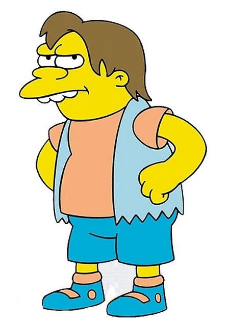 Nelson Muntz, bangster, bully, ruffian