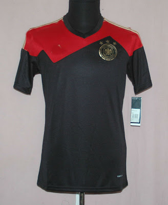 Kaos Bola Germany Away