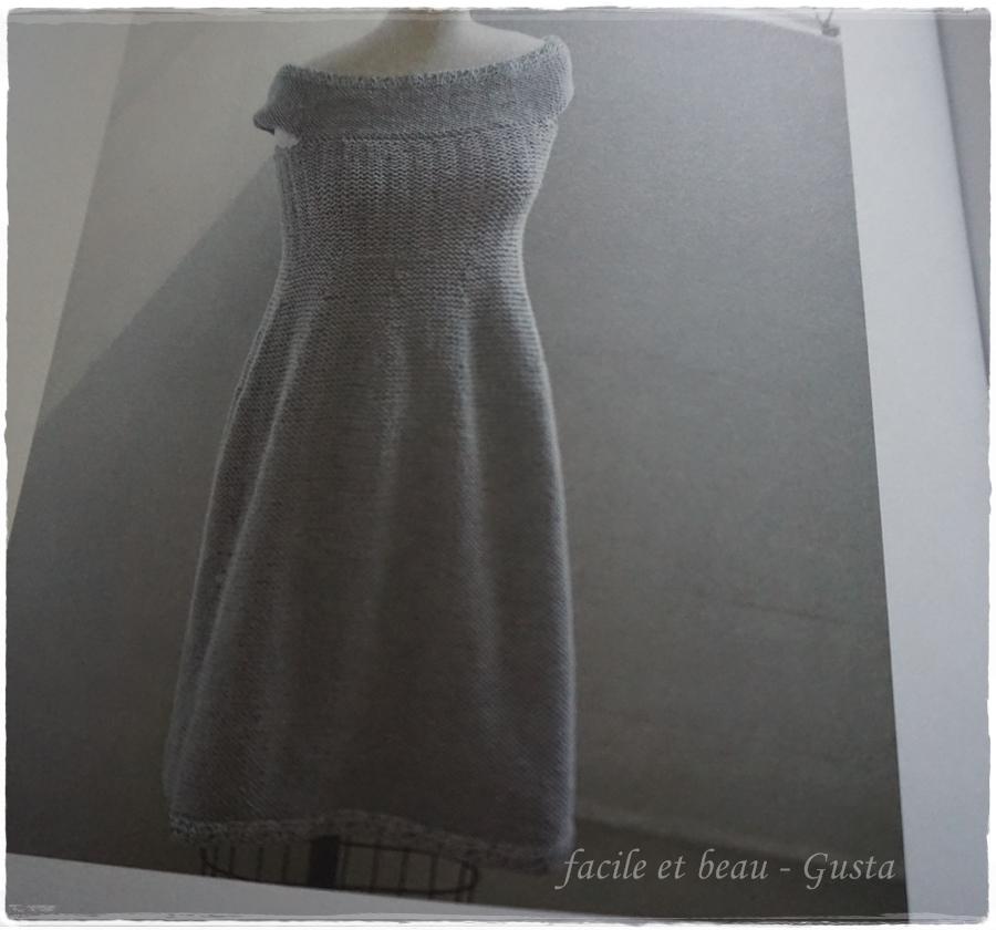 facile et beau gusta modern top down knitting. Black Bedroom Furniture Sets. Home Design Ideas
