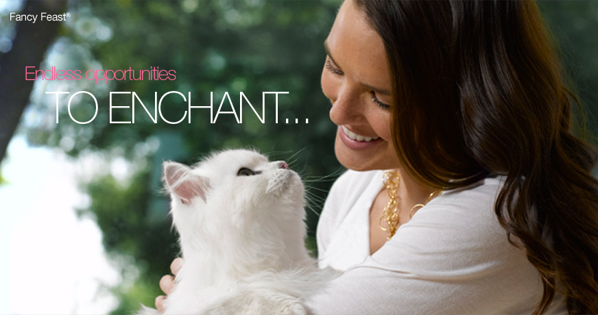 Fancy Feast Cat Food Commercial