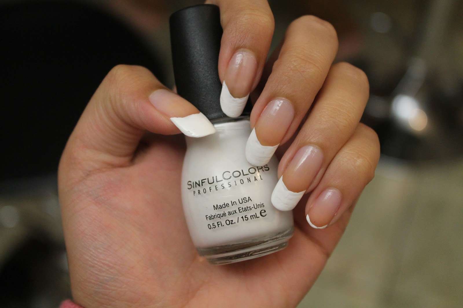 French Manicure and My Sinful Colors Collection | The Ravi Osahn ...