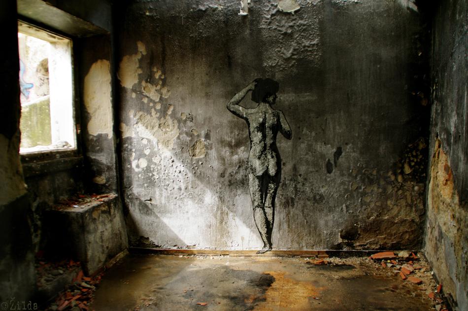 Zilda, street art, Lisbon, Fragiles Fabulae