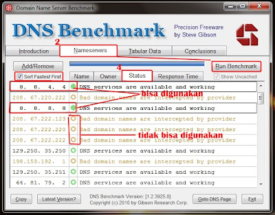 cara mempercepat internet dengan DNS alternatif