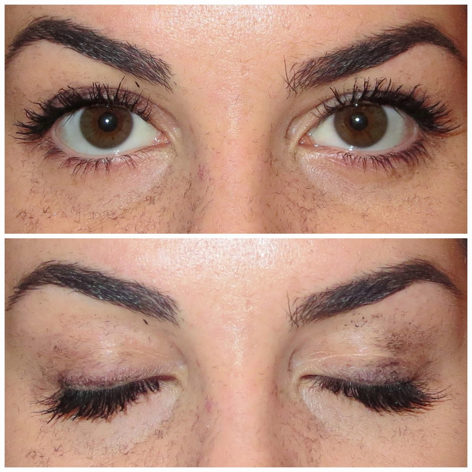 a picture of Physician's Formula Eye Booster Instant Lash Extension Kit after 2 coats