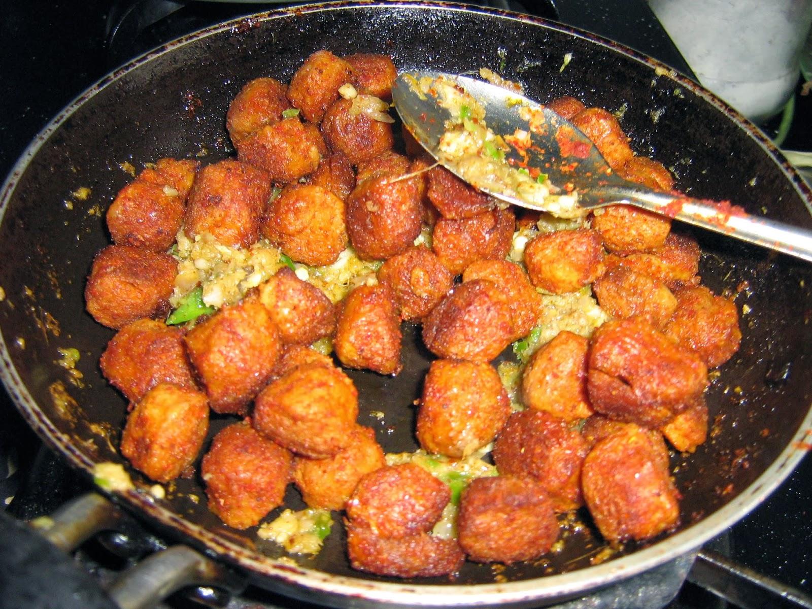 Soya fry soya chunks fry recipe meal maker fry how to make soya fry 8 forumfinder Choice Image