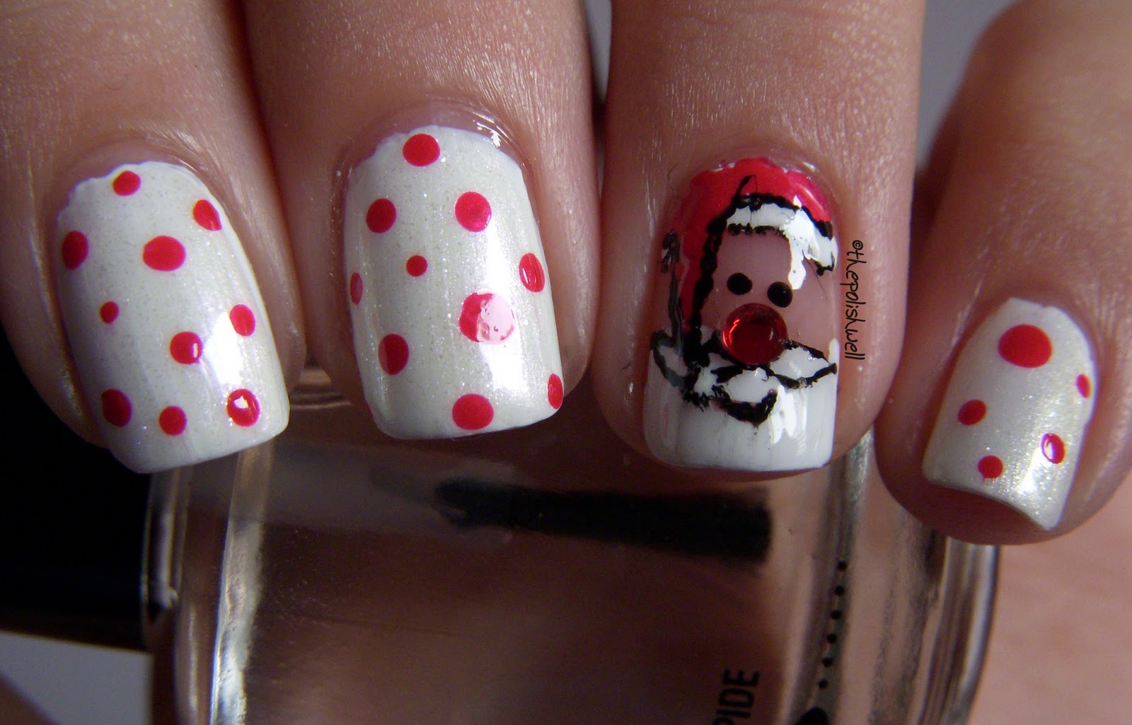 Women Beauty Tips 10 Sizzling Christmas Nail Polish Ideas