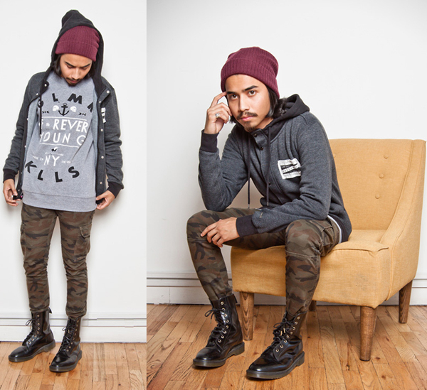 S Grunge Men Fashion