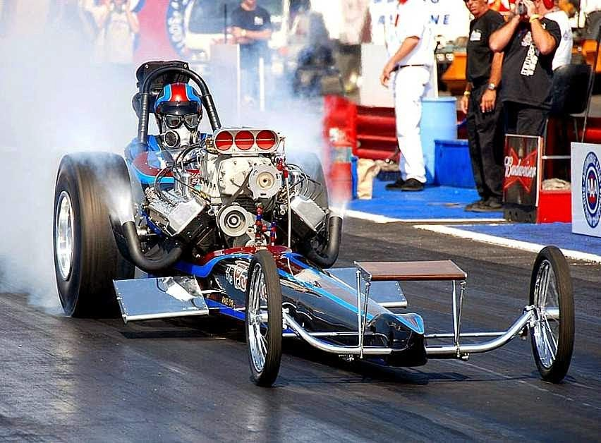Poachers Top Fuel Dragster - Fuel The Passion