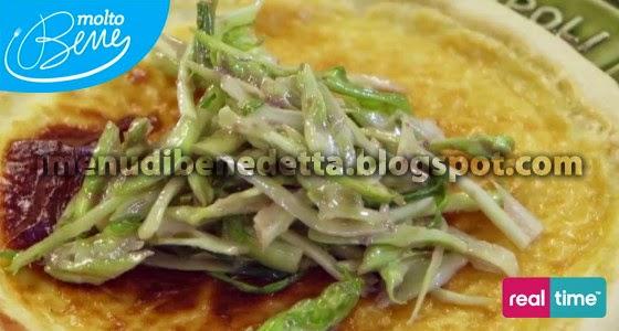 Torta Salata Robiola e Puntarelle di Benedetta Parodi