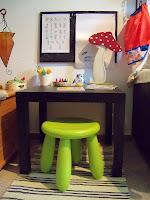 Anleitung Kreativecke für Kinder/ tutorial chilidren´s creative nook | http://panpancrafts.blogspot.de/