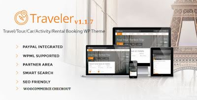 Download Traveler v1.1.7 Travel/Tour/Booking Wordpress Theme
