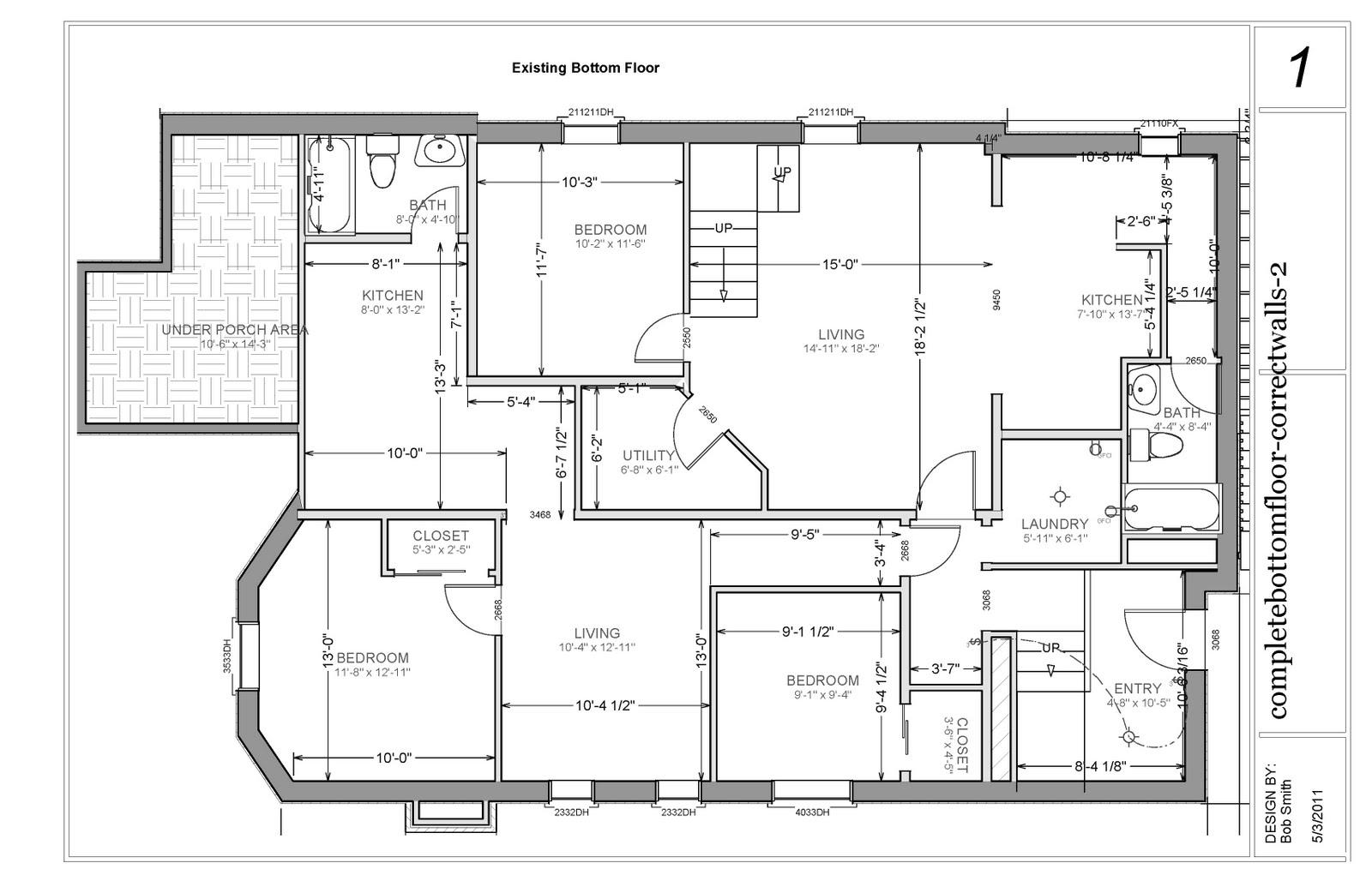 Finished Basement Floor Plans Ideas