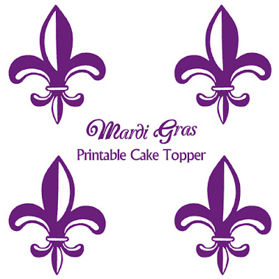 Ideas Mardi Gras Printable