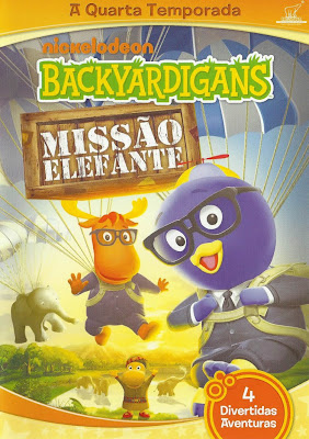 Backyardigans: Missão Elefante - DVDRip Dublado
