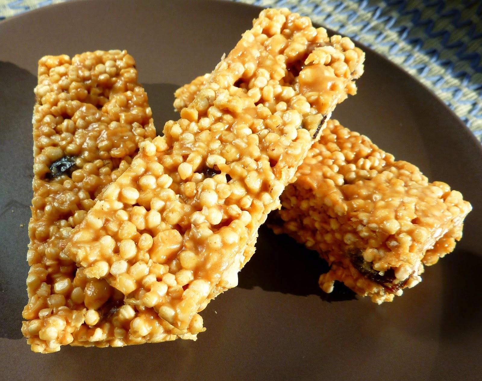 quinoa energy bars gluten free
