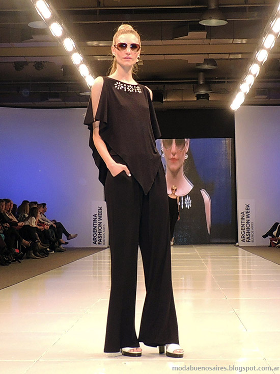 Adriana Costantini primavera verano 2015. Moda blusas primavera verano 2015.