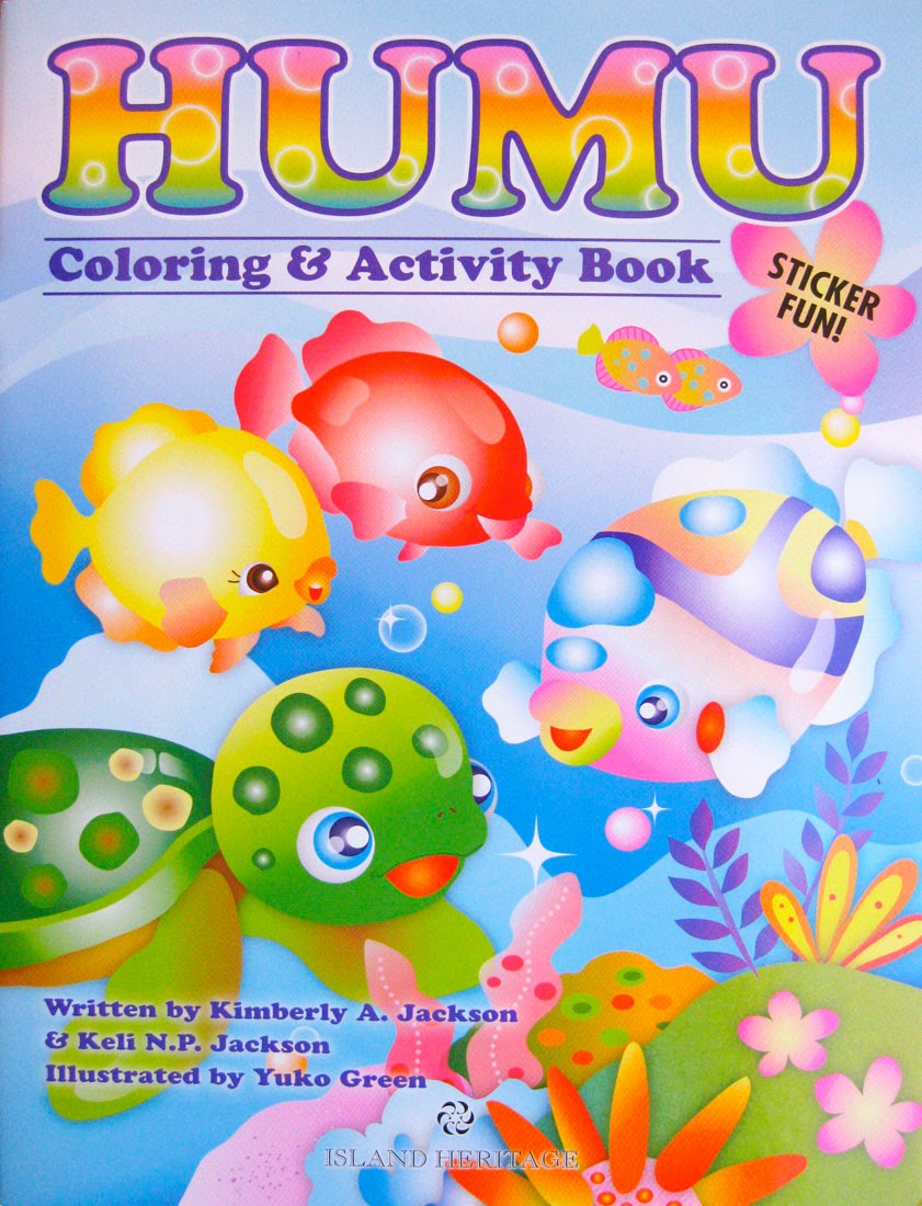 Humu coloring & activity book