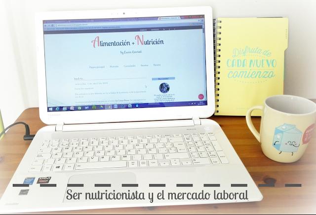 Ser nutricionista y el mercado laboral
