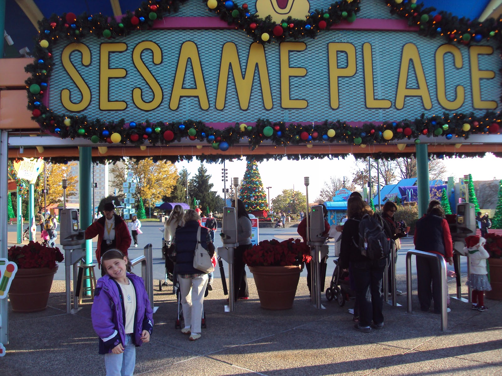 Sesame Place A Very Furry Christmas Review Four Little