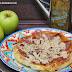 Tatin de manzanas, foie y jamón ibérico