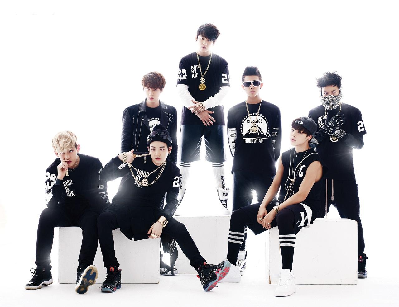 K_Popzine: BTS - 2 Cool 4 Skool (Photoshoot)
