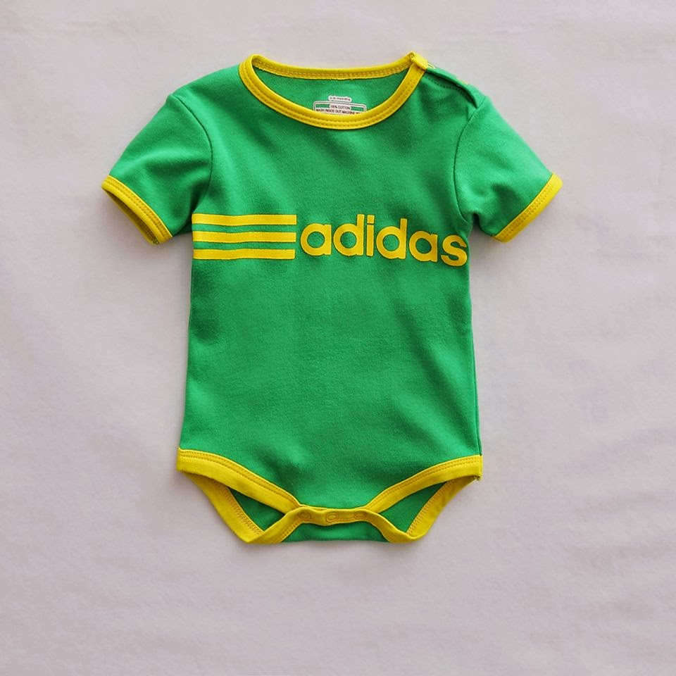 Branded Baby Kids Clothes Adidas Baby Romper
