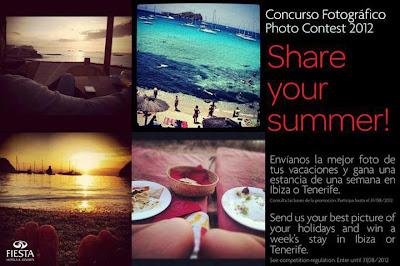 Participa en Share your summer y gana una estancia en Ibiza o Tenerife
