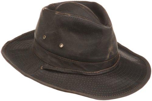 DORFMAN-PACIFIC WEATHERED COTTON OUTBACK HAT - EQUIP2SURVIVE de70a5725c4