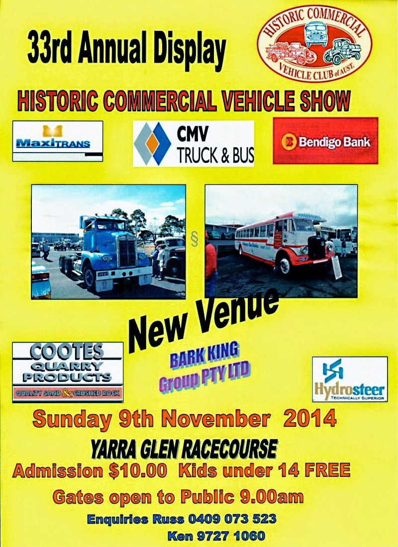 HCVC Display Day at Yarra Glen