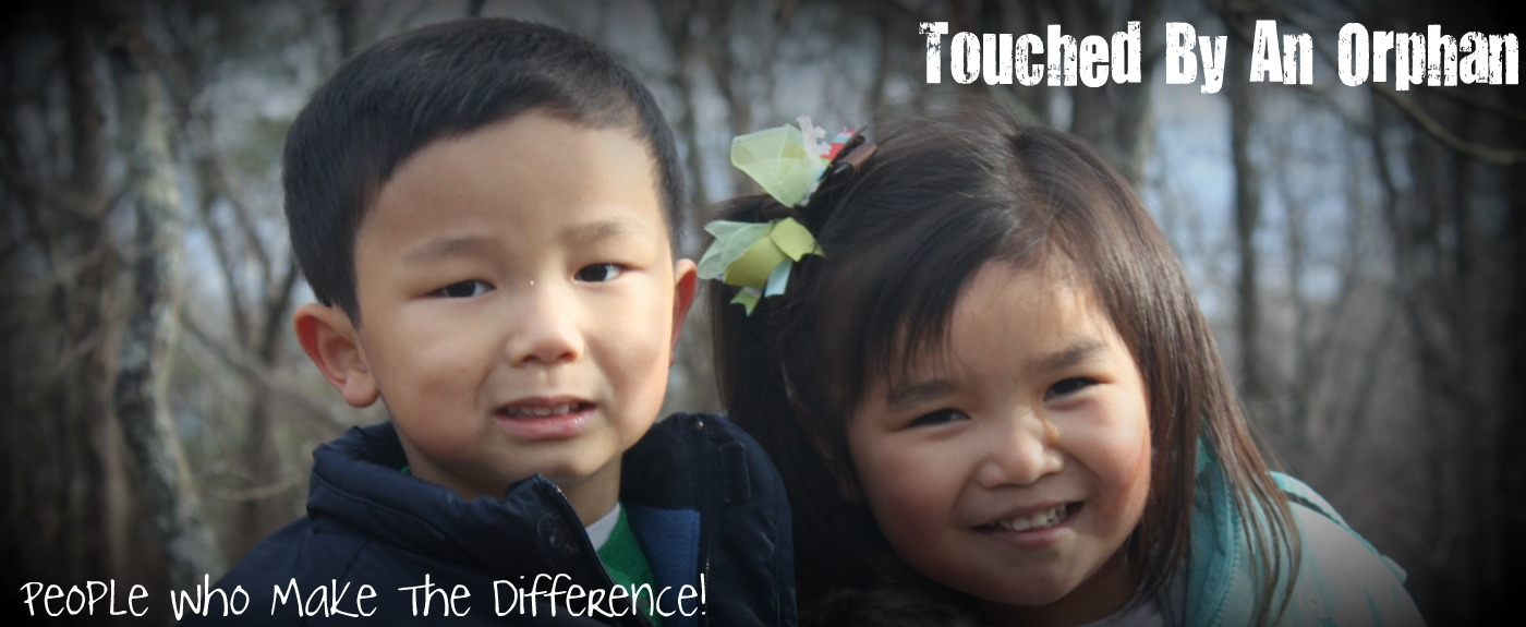 Touched By An Orphan.  People who make the difference in adoption of special needs children.
