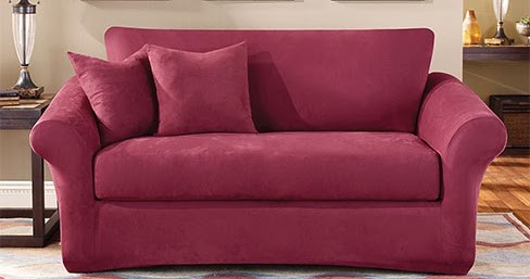 Sure Fit Slipcovers: Need A Slipcover And Have Loose Back Cushions... No  Problem!