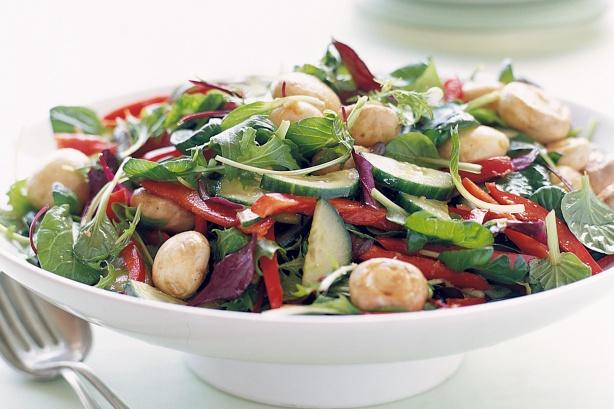 Japanese Style Marinated Mushroom Salad | Latest Mehendi Designs
