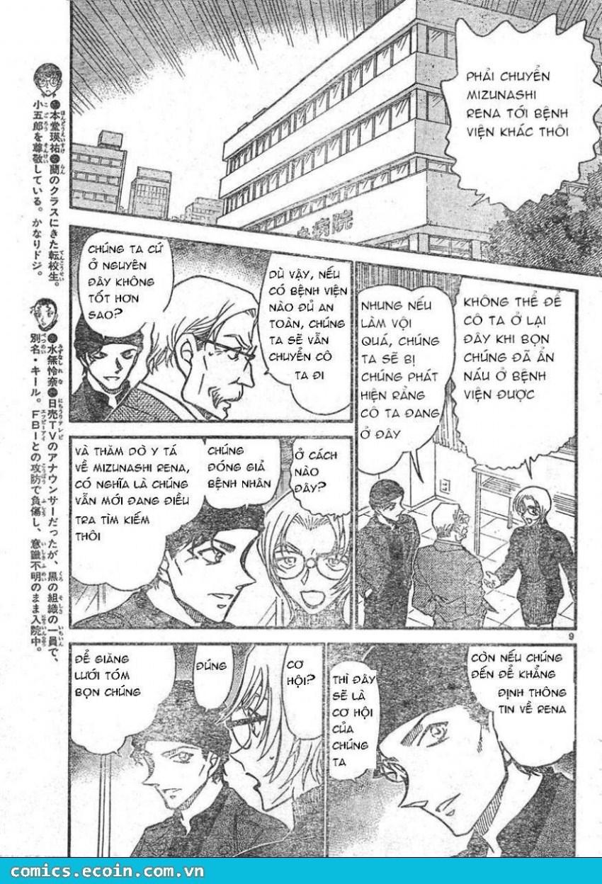 Detective Conan - Thám Tử Lừng Danh Conan chap 596 page 9 - IZTruyenTranh.com