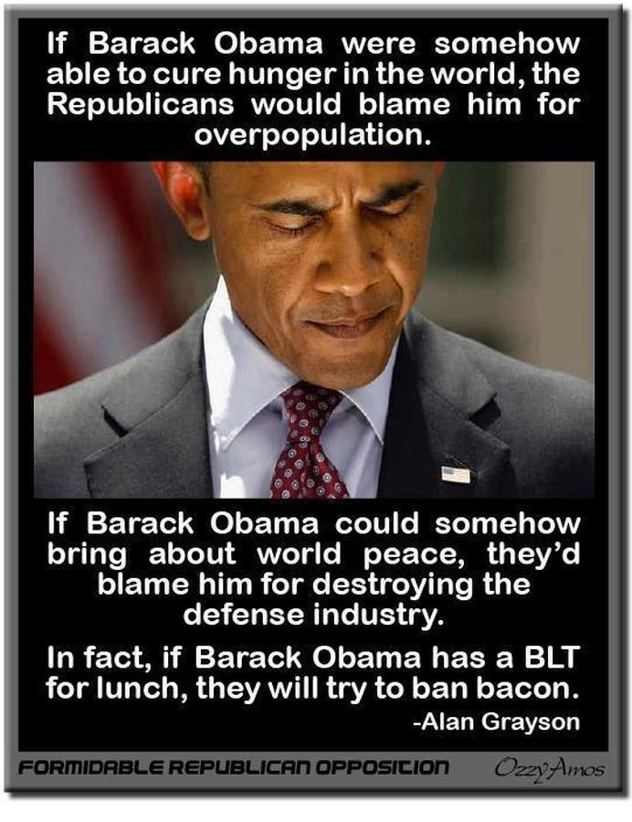 Acerbic Politics: Republicans hate Obama