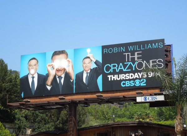 Crazy Ones season 1 billboard