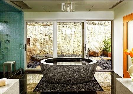 Kamar mandi minimalis batu alam 2