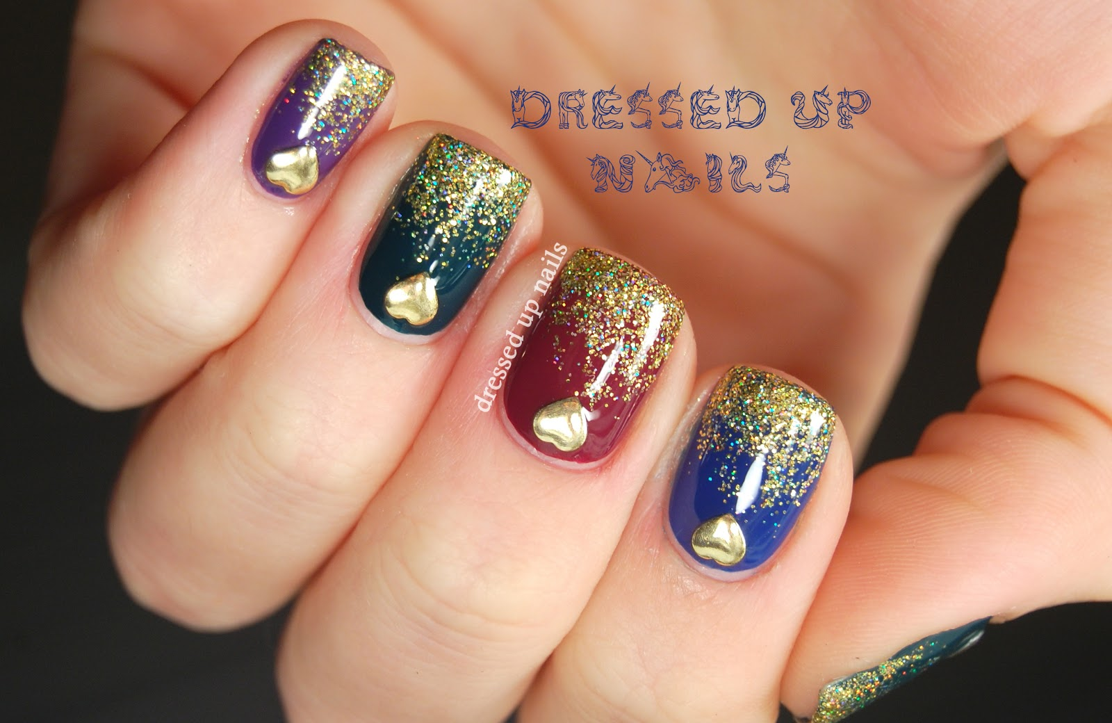 Nail Designs With Studs | Nail Designs, Hair Styles, Tattoos and ...