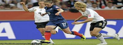 Couverture facebook football féminin français