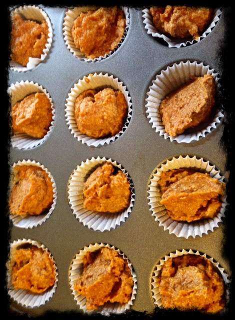 Beauty Begins with Biscotti: Paleo pumpkin walnut muffins