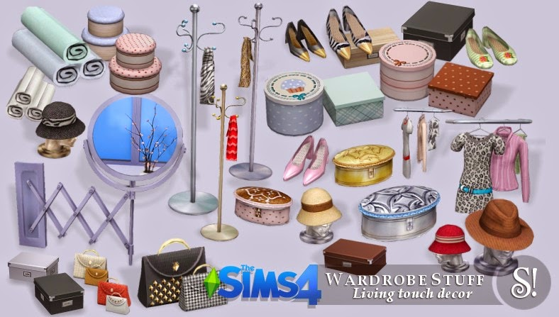 My Sims 4 Blog Furniture Clutter And More By Simcredible