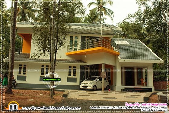 Completed villa
