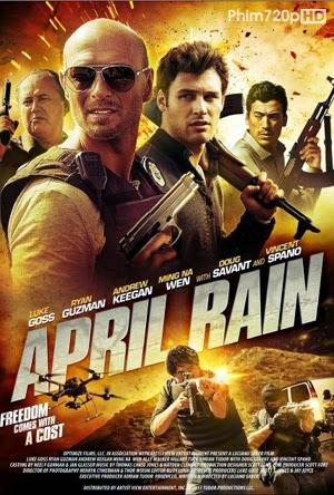 April Rain 2014 poster