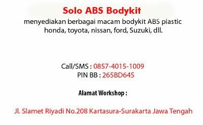 Tentang Solo ABS Bodykit Kartasura-Solo | SOLO ABS Bodykit ...