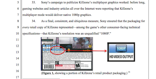 Sony is sued for false advertisement in PS4 game