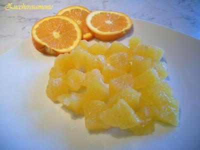 Caramelle gelee Gelatine all'arancia