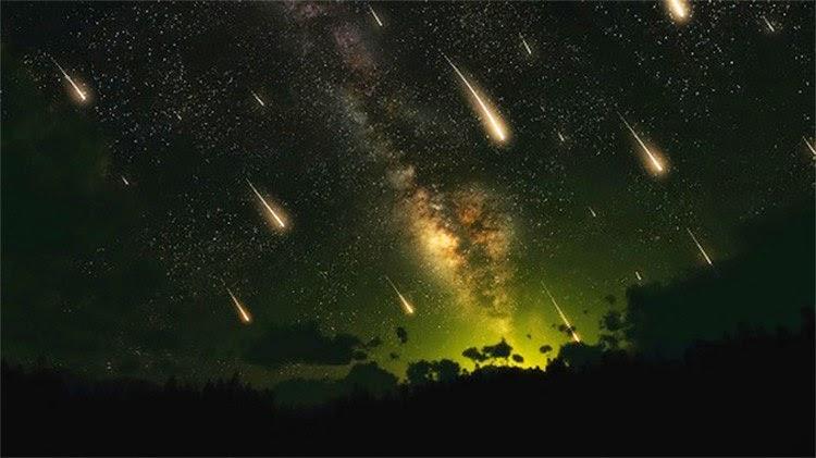 lluvias de meteoritos, Líridas y Pi Púpidas