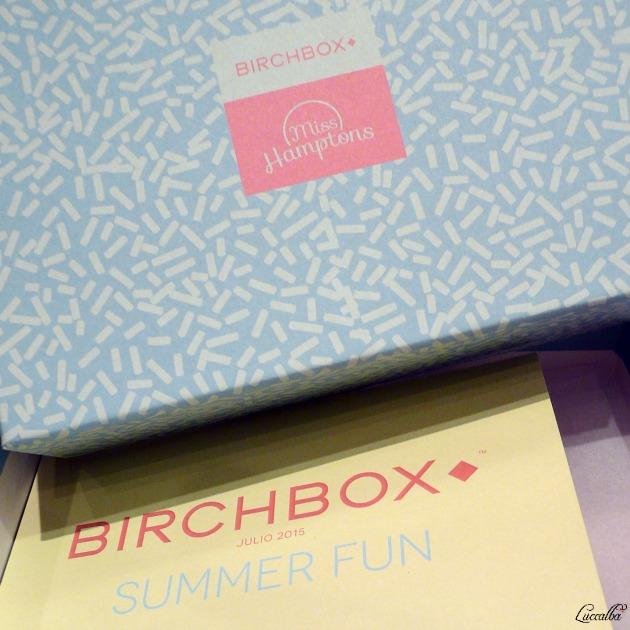 Birchbox julio 2015